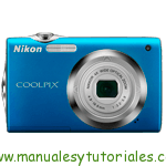 Nikon Coolpix S3000 Manual de usuario en PDF