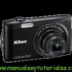 Nikon Coolpix S3300 Manual de usuario en PDF