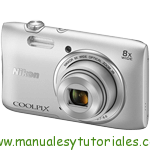 Nikon Coolpix S3600 Manual de usuario en PDF