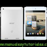 Acer Iconia A1-830 | Manual de usuario PDF español