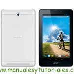 Acer Iconia Tab 7 | Manual de usuario PDF español