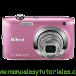 Nikon Coolpix S2500 | Manual de usuario en PDF Español