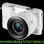 Samsung Smart Camera NX1100 | Guía de usuario PDF español