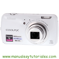 Nikon Coolpix S800c Manual de usuario en PDF