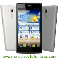Acer Liquid Z5 Manual de usuario PDF español
