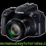Canon PowerShot SX60 HS | Manual de usuario PDF español
