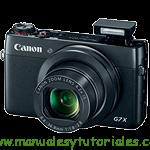 Canon PowerShot G7 X | Manual de usuario PDF español