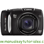 Canon PowerShot SX120 IS | Manual de usuario PDF español