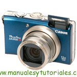 Canon PowerShot SX200 IS | Manual de usuario PDF español
