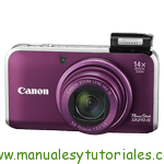 Canon PowerShot SX210 IS | Manual de usuario PDF español