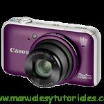 Canon SX220 HS Manual de usuario en español