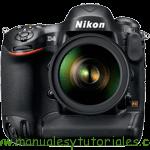 Nikon D4 Manual de usuario en PDF español
