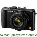 Panasonic LUMIX LX7 Manual de usuario PDF español