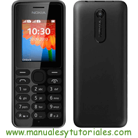 Nokia 108 Manual de usuario PDF español
