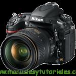 Nikon D800E Manual de usuario PDF español