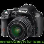 Ricoh PENTAX K500 Manual de usuario PDF español