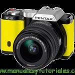 Ricoh Pentax K-01 Manual de usuario PDF español