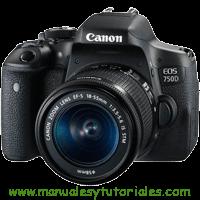 Canon EOS 750D Manual de usuario PDF Español