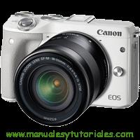 Canon EOS M3 Manual de usuario PDF Español canon eos utility download canon eos 1200d is canon eos 50mm camara semiprofesional canon mejor camara canon