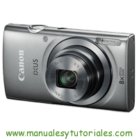 Canon IXUS 165 Manual And User Guide PDF