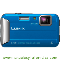 Panasonic Lumix FT30 Manual de usuario PDF Español
