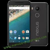 LG Nexus 5X Manual de usuario PDF español