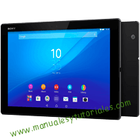 Sony Xperia Tablet Z4 Manual de usuario PDF español