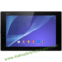 Sony Xperia Z2 Tablet Manual de usuario PDF español
