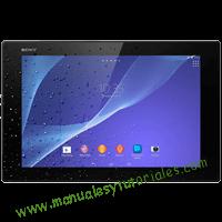 Sony Xperia Z2 Tablet Manual de usuario PDF español