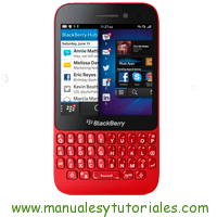 Blackberry Q5 Manual usuario PDF español
