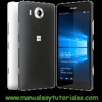 Microsoft Lumia 950 Manual usuario PDF
