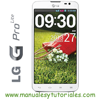 LG Optimus G Pro lite Manual de Usuario PDF software LG telefonos moviles ultima generacion