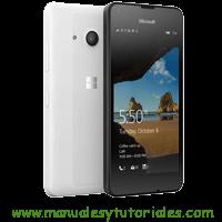 Microsoft Lumia 550 Manual usuario PDF