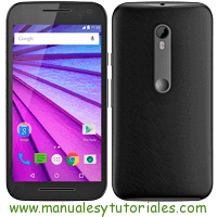 Motorola Moto G3 Manual de Usuario PDF