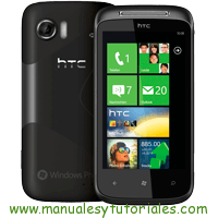 HTC 7 Mozart Manual de Usuario PDF