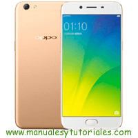 Oppo R9s Manual de Usuario PDF