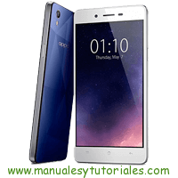 Oppo Mirror 5s Manual de Usuario PDF
