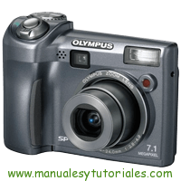 Olympus SP-320 Manual de Usuario PDF