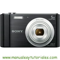 Sony DSC-W800 Manual de Usuario PDF