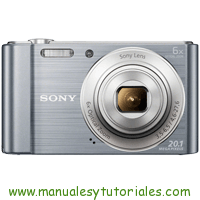 Sony DSC-W810 Manual de Usuario PDF