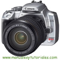 Canon EOS REBEL Xti Manual de Usuario PDF