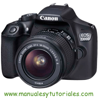 Canon EOS 1300D Manual de Usuario PDF