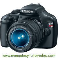 Canon EOS REBEL T3 Manual de Usuario PDF