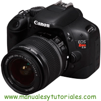 Canon EOS REBEL T2i Manual de Usuario PDF