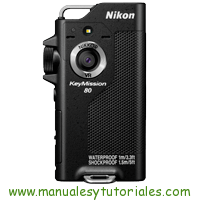 Nikon Keymission 80 Manual de Usuario PDF