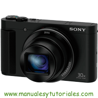 Sony DCS-HX90 Manual de Usuario PDF