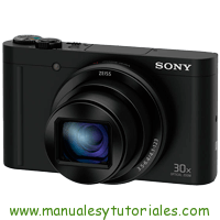 Sony DSC-WX500 Manual de Usuario PDF