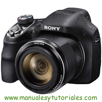 Sony DSC-H400 Manual de Usuario PDF
