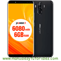 Ulefone Power 3 Manual de Usuario en PDF español