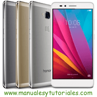 Honor 5X Manual de Usuario en PDF español